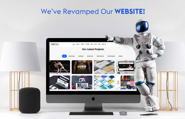 The Portal agency revamped its website