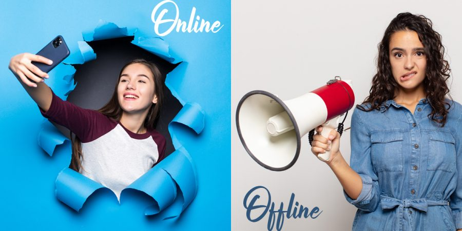 Difference between Online and Offline marketing.